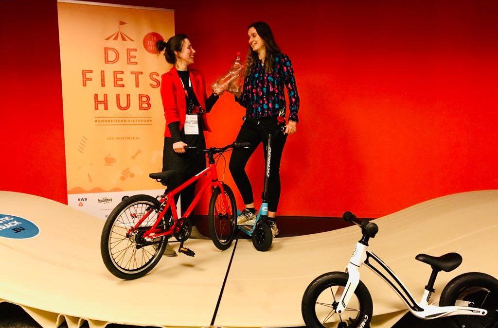 Vuelta Fietshub & Stichting Pumptrack slaan handen ineen