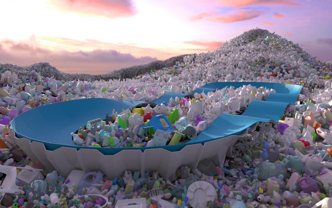 BLOG: Een pumptrack van gerecycled plastic!